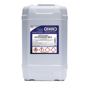 Exol Opticool Antifreeze Red 20 Litre Drum